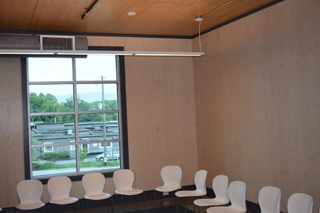 clt panel interior conf room